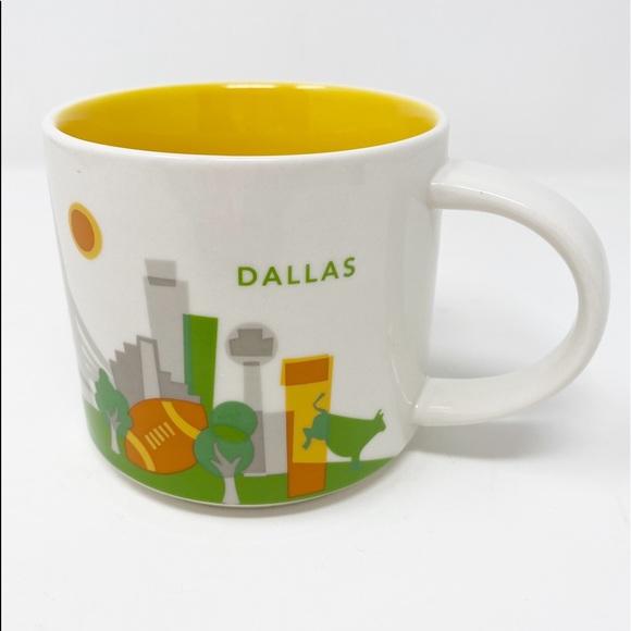 STARBUCKS You Are Here Collection ~ Dallas